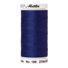 Thread bobbin Mettler Seralon 274 m - N°1078 - Fire Blue