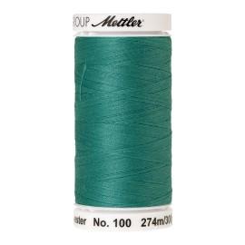 Thread bobbin Mettler Seralon 274 m - N°1091 - Deep Aqua