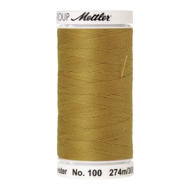 Thread bobbin Mettler Seralon 274 m - N°1102 - Ochre