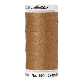 Thread bobbin Mettler Seralon 274 m - N°1121 - Toffee