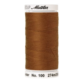 Thread bobbin Mettler Seralon 274 m - N°1131 - Brass