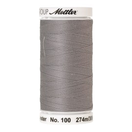 Thread bobbin Mettler Seralon 274 m - N°1140 - Sterling