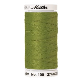 Thread bobbin Mettler Seralon 274 m - N°1146 - Yellowgreen
