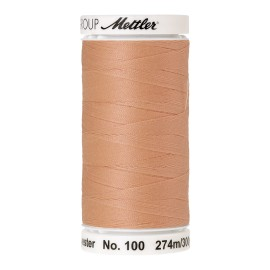 Thread bobbin Mettler Seralon 274 m - N°1163 - Shrimp Pink
