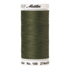 Thread bobbin Mettler Seralon 274 m - N°1210 - Seagrass