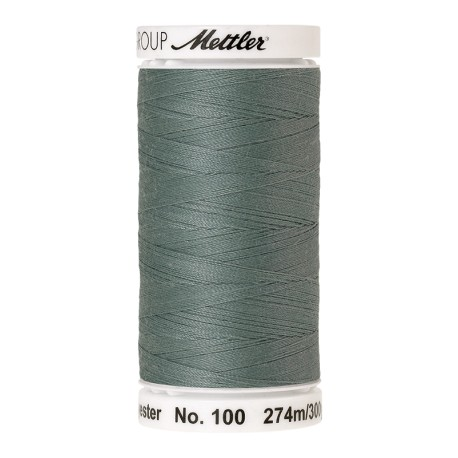 Thread bobbin Mettler Seralon 274 m - N°1214 - Vintage Blue