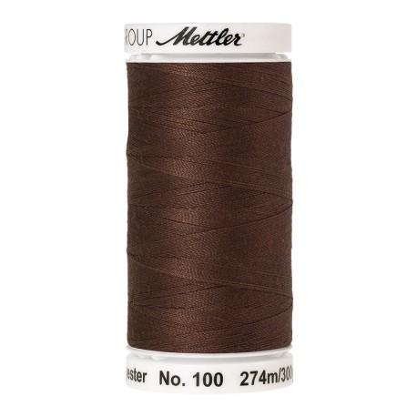 Bobine de fil Mettler Seralon 274 m - N°1223 - Noix de pécan