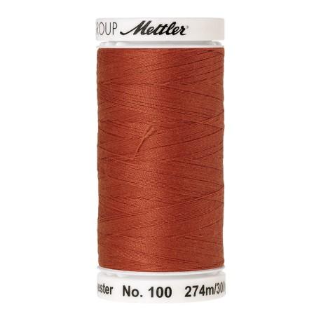 Bobine de fil Mettler Seralon 274 m - N°1288 - Ocre rougeâtre