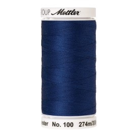 Thread bobbin Mettler Seralon 274 m - N°1303 - Royal Blue