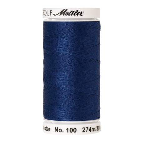 Thread bobbin Mettler Seralon 274 m - N°1303 - Royal Blue