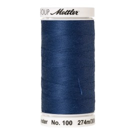 Thread bobbin Mettler Seralon 274 m - N°1316 - Steel Blue