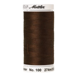Thread bobbin Mettler Seralon 274 m - N°1320 - Dark Brass