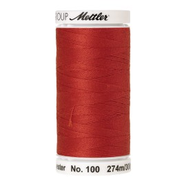 Thread bobbin Mettler Seralon 274 m - N°1336 - Vermillion