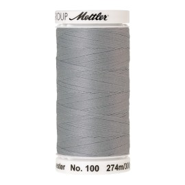 Thread bobbin Mettler Seralon 274 m - N°1340 - Silver Grey