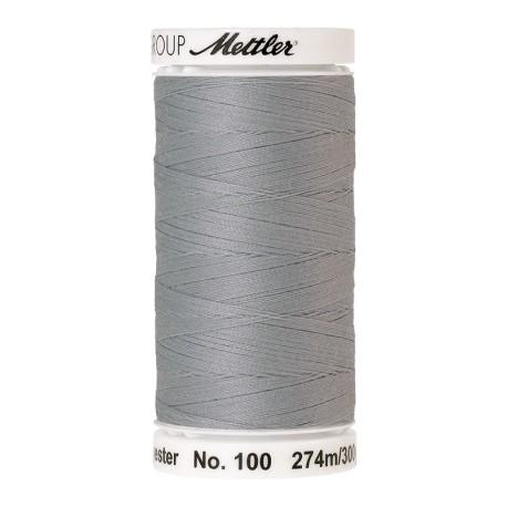Thread bobbin Mettler Seralon 274 m - N°1340 - Silver Grey