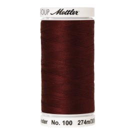 Thread bobbin Mettler Seralon 274 m - N°1348 - blue elderberry