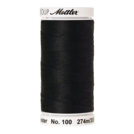 Bobine de fil Mettler Seralon 274 m - N°1362 - Obsidienne