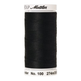 Thread bobbin Mettler Seralon 274 m - N°1362 - Obsidian
