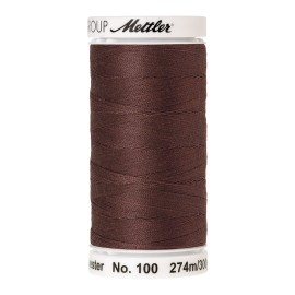 Thread bobbin Mettler Seralon 274 m - N°1380 - Espresso