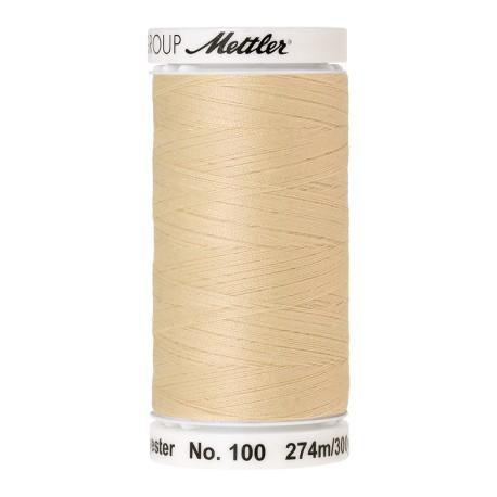 Bobine de fil Mettler Seralon 274 m - N°1384 - Fleur de chaux