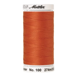 Thread bobbin Mettler Seralon 274 m - N°1401 - Harvest