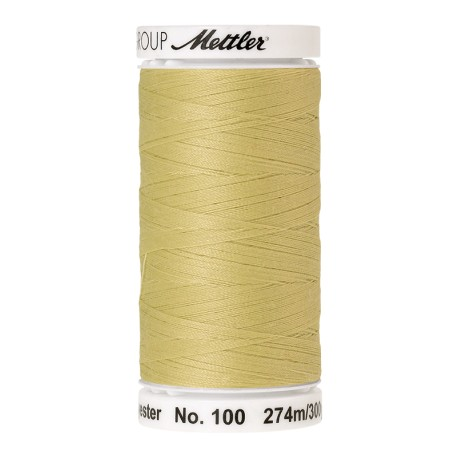 Thread bobbin Mettler Seralon 274 m - N°1412 - Lemon Frost