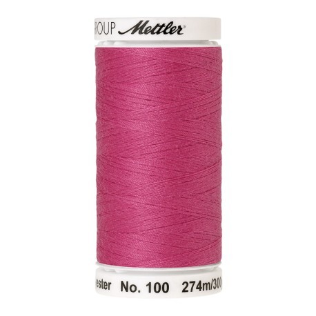 Bobine de fil Mettler Seralon 274 m - N°1423 - Rose vif