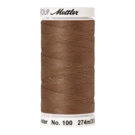 Bobine de fil Mettler Seralon 274 m - N°1424 - Noix de pécan