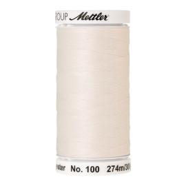 Bobine de fil Mettler Seralon 274 m - N°2000 - blanc