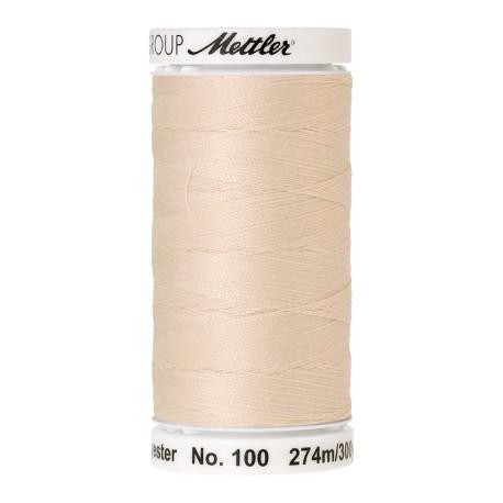 Thread bobbin Mettler Seralon 274 m - N°3000 - Candlewick
