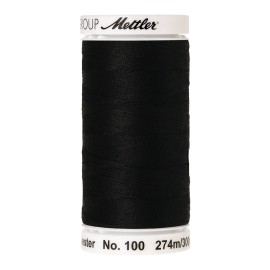 Thread bobbin Mettler Seralon 274 m - N°4000 - Black