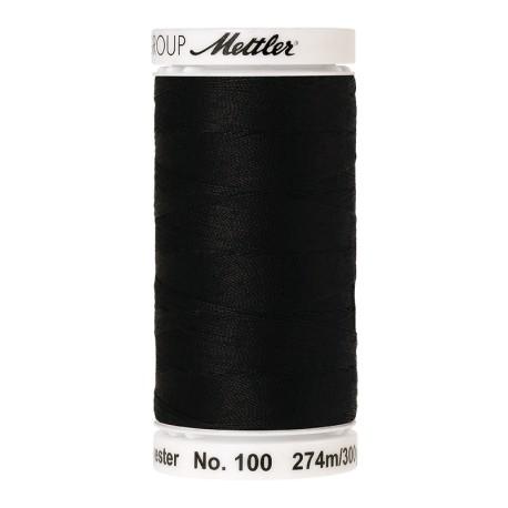 Thread bobbin Mettler Seralon 274 m - N°4000 - Black