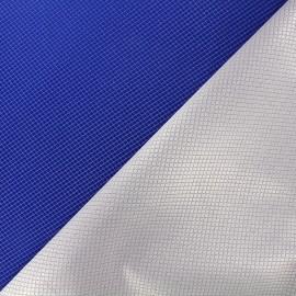 Tissu jacquard réversible Goldy - bleu roy x 10cm