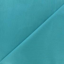 Tissu coton uni Reverie grande largeur (280 cm) - turquoise x 10cm