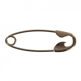 Large Kilt safety pin Morgane - bronze