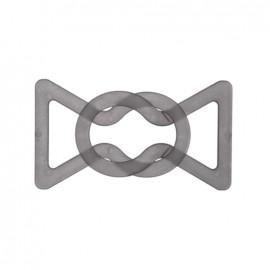 Belt buckle Hiroko – light grey