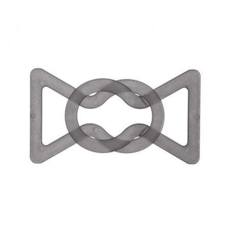 Boucle ceinture Hiroko - gris clair