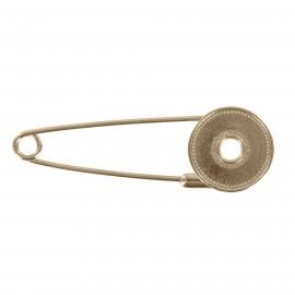 Kilt safety pin Clovis - bronze