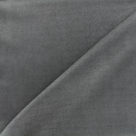 Suede elastane fabric Soft - slate x 10cm
