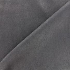 Suede elastane fabric Soft - anthracite x 10cm