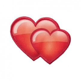 Iron on patch and sticker Emoji™ - Hearts