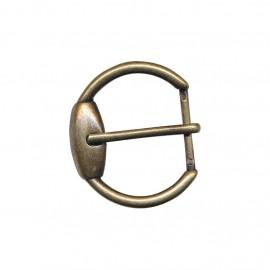 Boucle ceinture métal Ilda - bronze