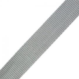 Polypropylene strap - grey