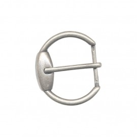 Metal belt buckle Ilda – silvery