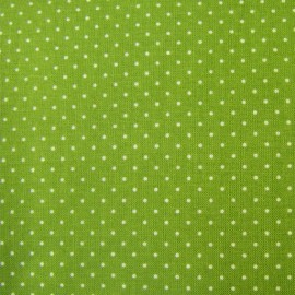Mini Dots Fabric - Olive Green x 10cm