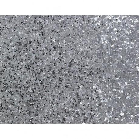 Bande glitter largeur 10 cm - argent x 50cm