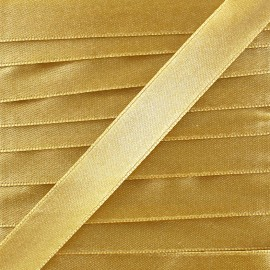 Satin ribbon - gold x 1m