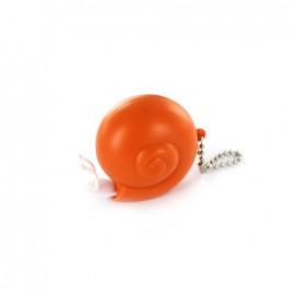 Retractable measure tape Snail - orange