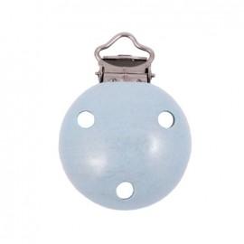 Clip attache tétine - bleu ciel