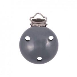Clip attache tétine - gris